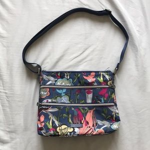 Sakroots Crossbody Purse w/ Multiple Compartments